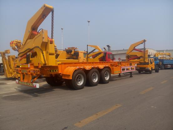 Truck Mounted Crane Exported To Georgia3