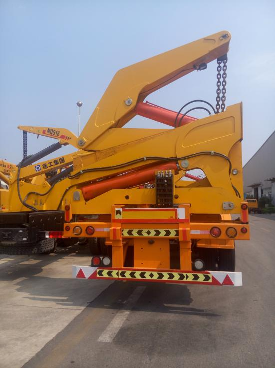 Truck Mounted Crane Exported To Georgia4