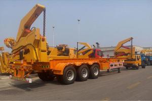 Truck Mounted Crane Exported To Georgia