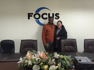 Our Client from Ethiopia Visited us in February, 2016