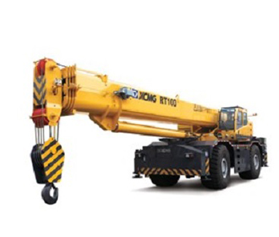 XCMG ROUGH TERRAIN CRANE RT100