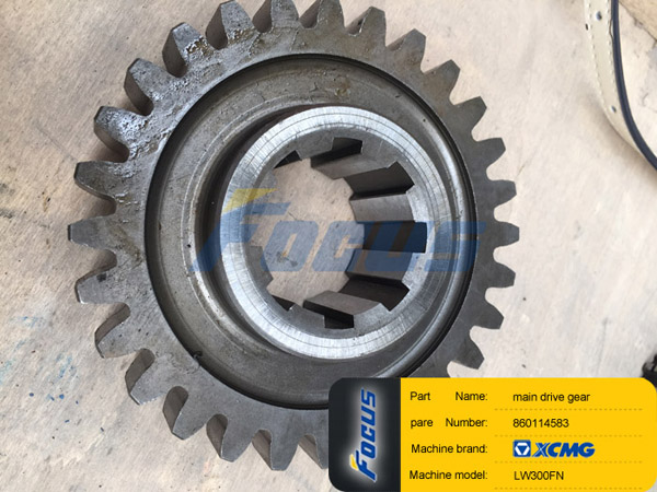 XCMG Wheel Loader LW300FN Main Drive Gear 860114583