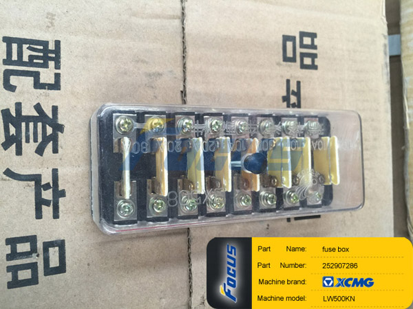XCMG Wheel Loader LW500KN Fuse Box252907286