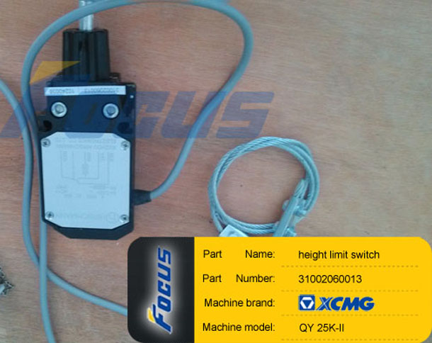 XCMG QY25K-II Truck Crane Height Limit Switch 31002060013
