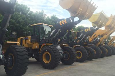 2 Sets Of LW300FV Wheel Loader Delivered To Malaysia In December