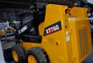 1 Unit XCMG XT760 Skid Steer Loader To Kazakhstan