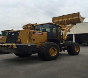 1 Unit XCMG Wheel Loader LW600FN Delivered to Kenya