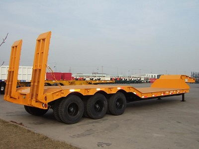 CIMC 70t Low Bed Semi Trailer