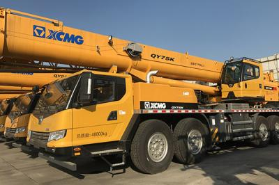 XCMG 50t QY50KA Truck Crane Delivered To South Africa In December