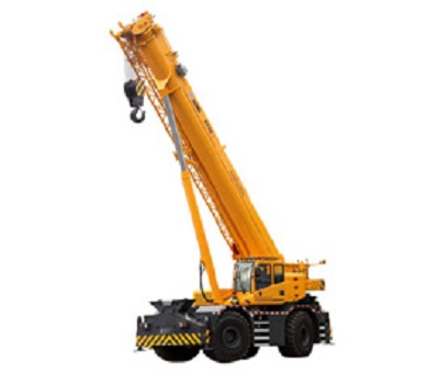 XCMG ROUGH TERRAIN CRANE RT80